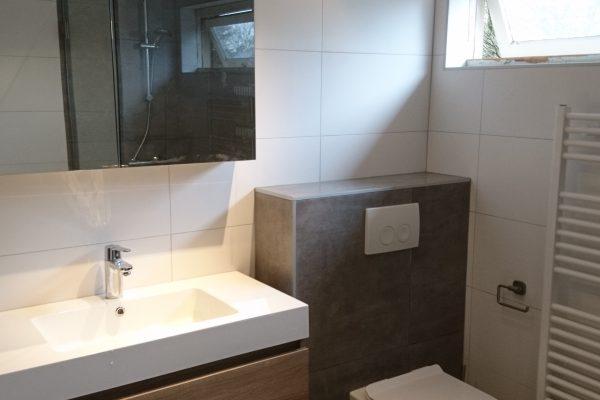 Badkamer met toilet