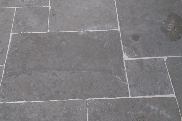 Natuursteen vloer in verband
