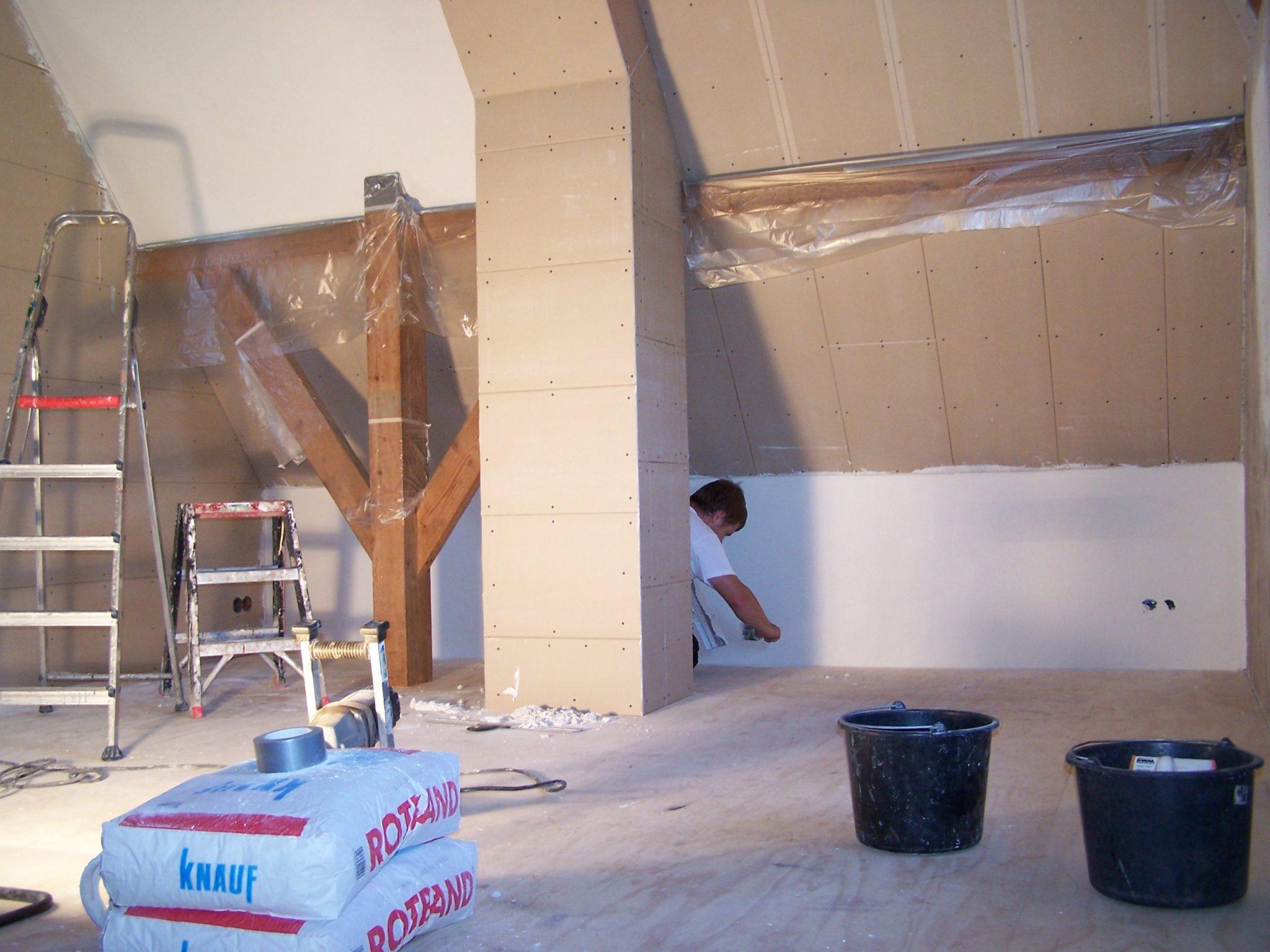 slaapkamer verbouwing tegelwerk